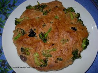 tortino salato con broccoli