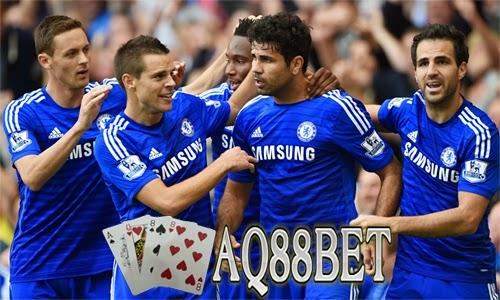 Agen Bola AQ88bet - Tim Chelsea saat ini tinggal menunggu juara Premier League 2014/2015 jika mampu mengalahkan tim Leicester City malam nanti