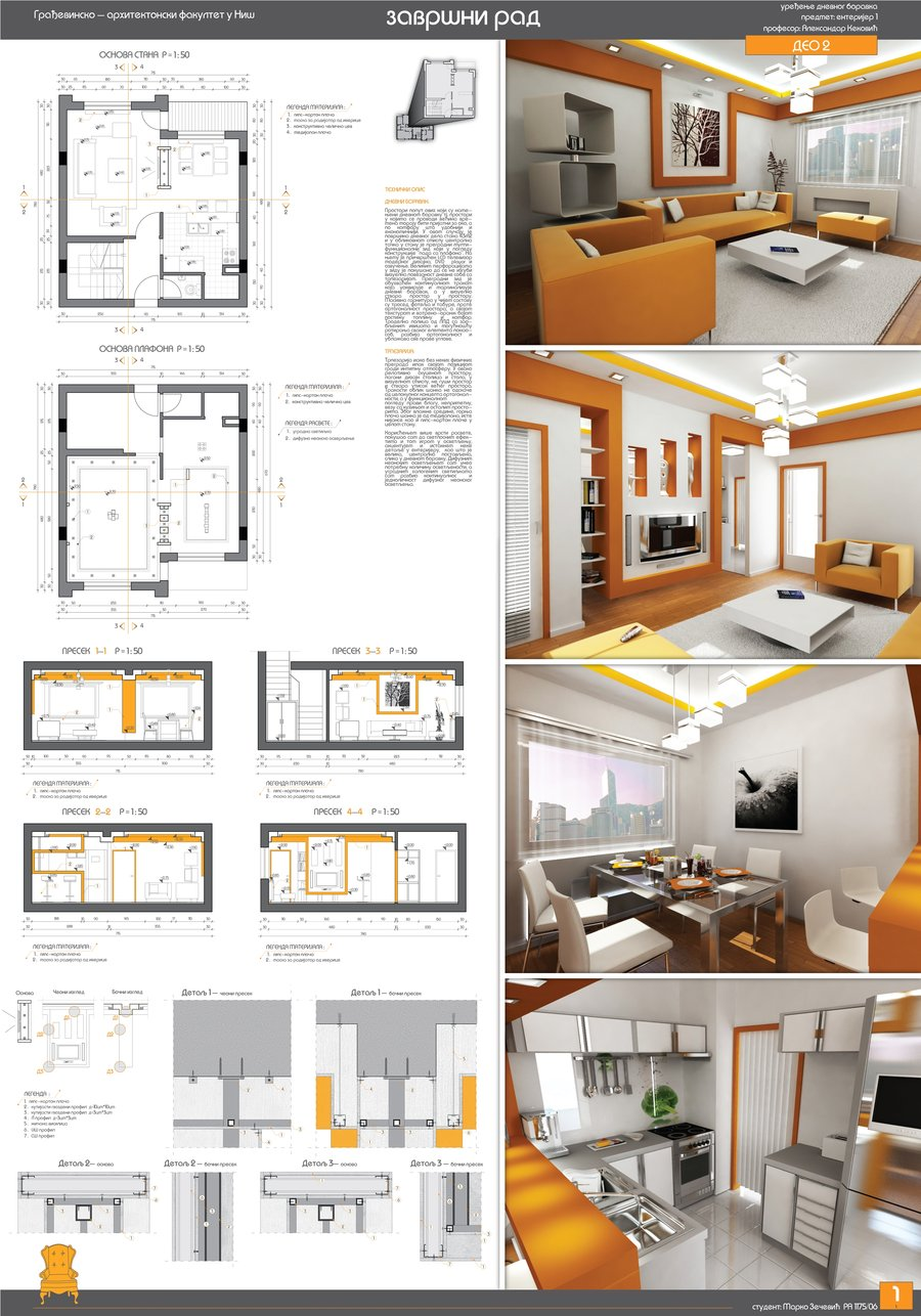 Ejemplos de paneles resumen de interiorismo y decoraci n for Innenarchitektur portfolio