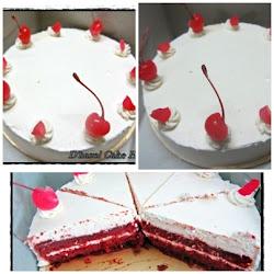 New-Red velvet cake