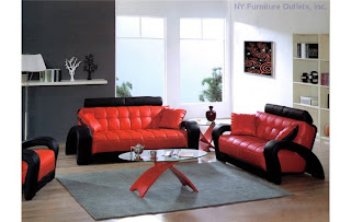 Leather Living Room Furniture Sets on Italian Leather Living Room Set In Modern Sofas And Sets For Living