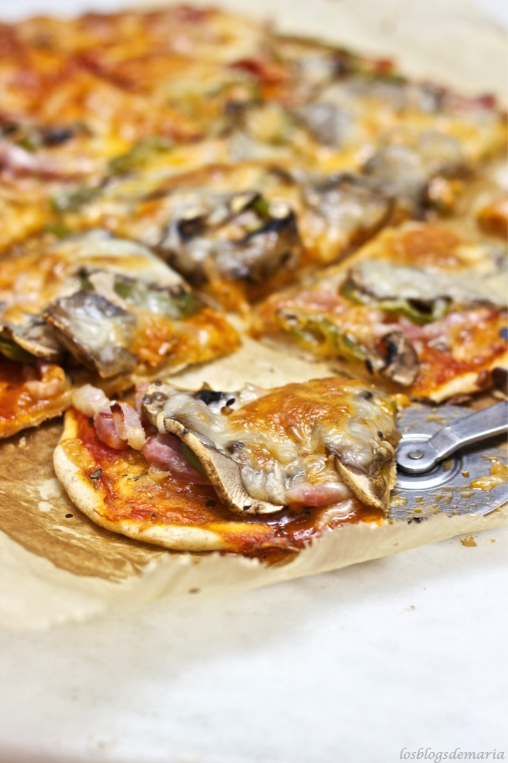 Pizza de espelta para  #díadelaEspelta #unregaloparaFent