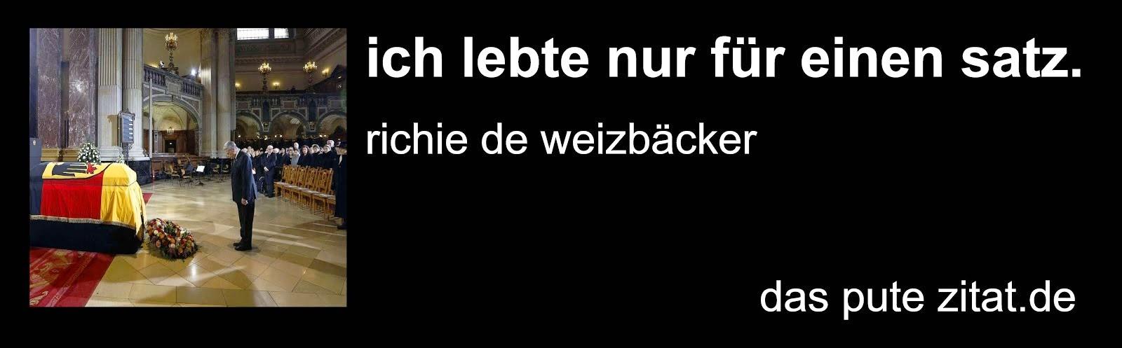richard von weizsäcker DIE GEISTIGE REVOLUTION mischa vetere friedrich der grosse hommage gauck