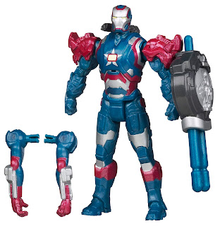 "Hasbro Iron Man 3 ""Assemblers"" Iron Patriot figure"