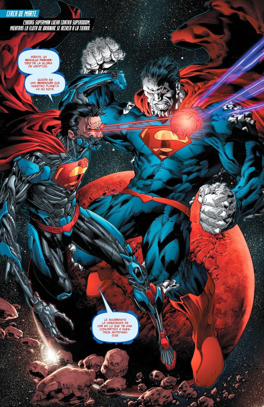 New 52 Cyborg Superman  Superman  Pinterest  Superman