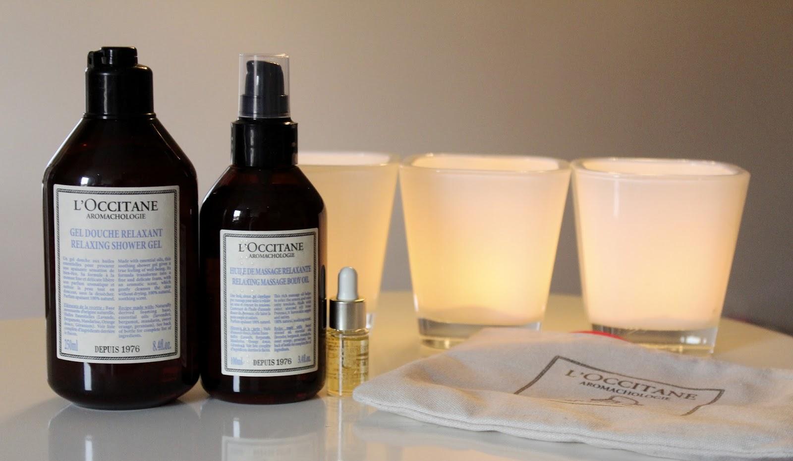 L'Occitane Aromakologija gel za tuširanje i ulje za masažu i Divine Youth ulje