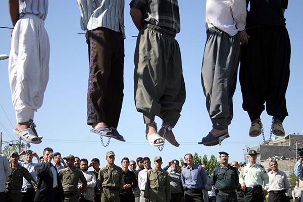 Наказание за гомосексуализм в аравии