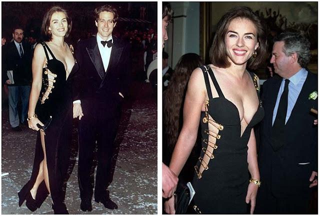 Элизабет Херли в Versace