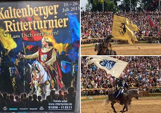 chevaliers au tournoi de Kaltenberg