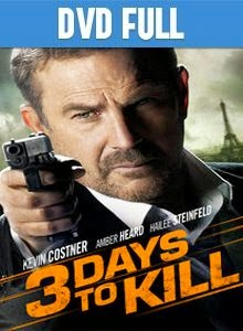3 Days to Kill DVD Full Español Latino 2014