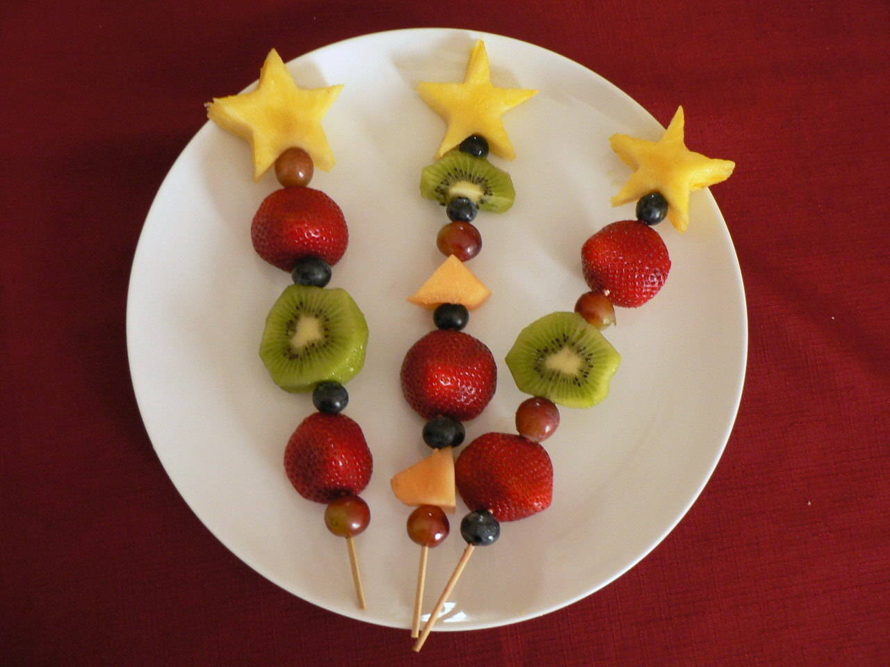 Fresh Fruit Kabobs - healthy and fun snack for kids :)