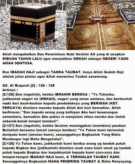 Ibadah Haji atau Umroh (Jalan Pintas Taubat)