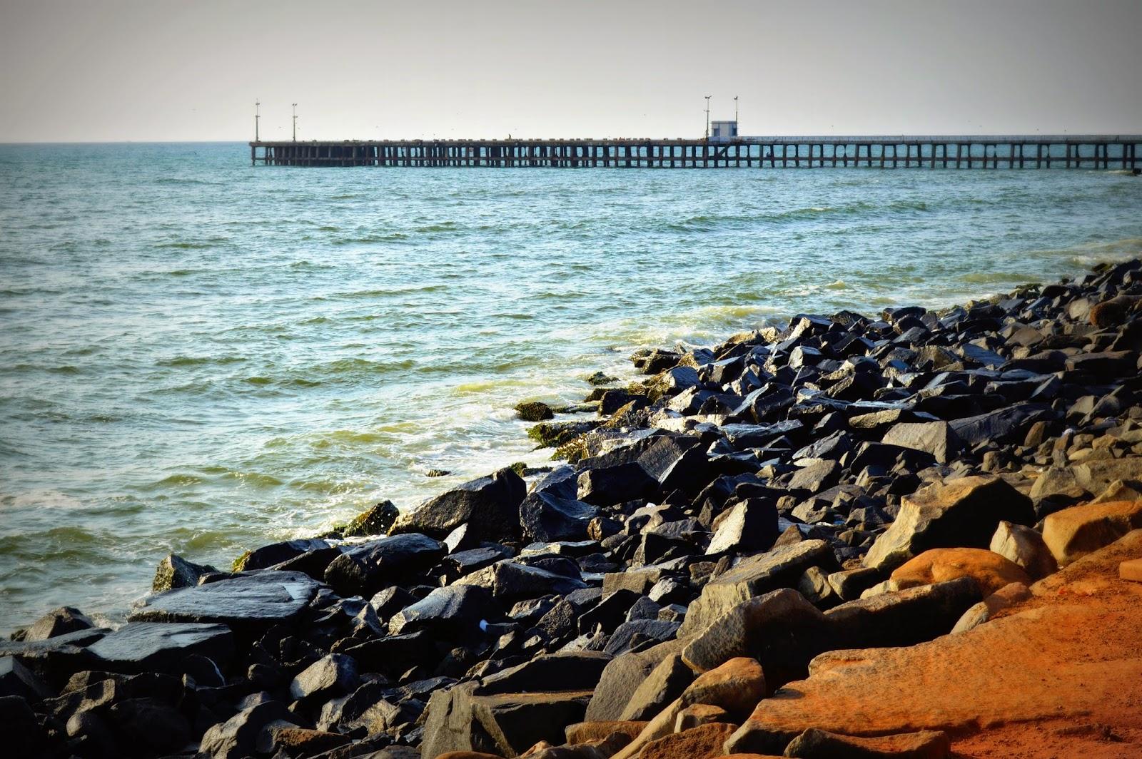 Image result for pondicherry promenade beach