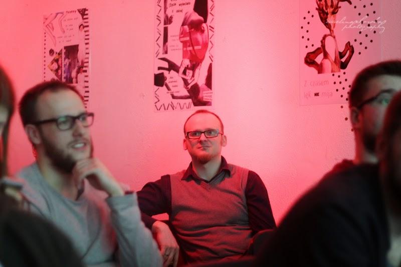 UX Faktoria Łódź, Ewelina Choroba Fotografia, mezczyna, prelekcja, spotkanie