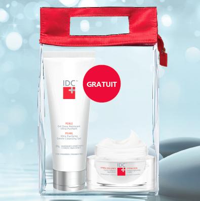 Votre routine hivernale IDC: Gel Perle + Hydra-Scellante