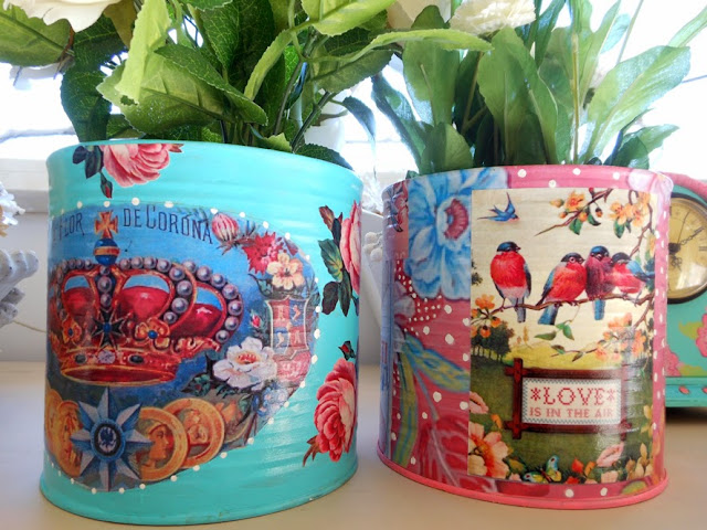 How to decorate tin can ideas