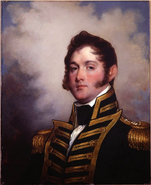 Oliver Hazard Perry by Gilbert Stuart, 1818