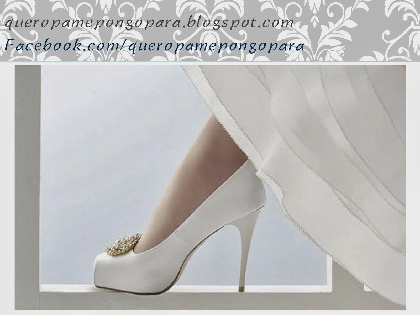 QUE ZAPATOS ME PONGO CON UN VESTIDO DE NOVIA - Calzado para novias - Outfits matrimoniales