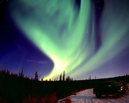 Aurora Borealis on Alaska Aurora Borealis Jpg