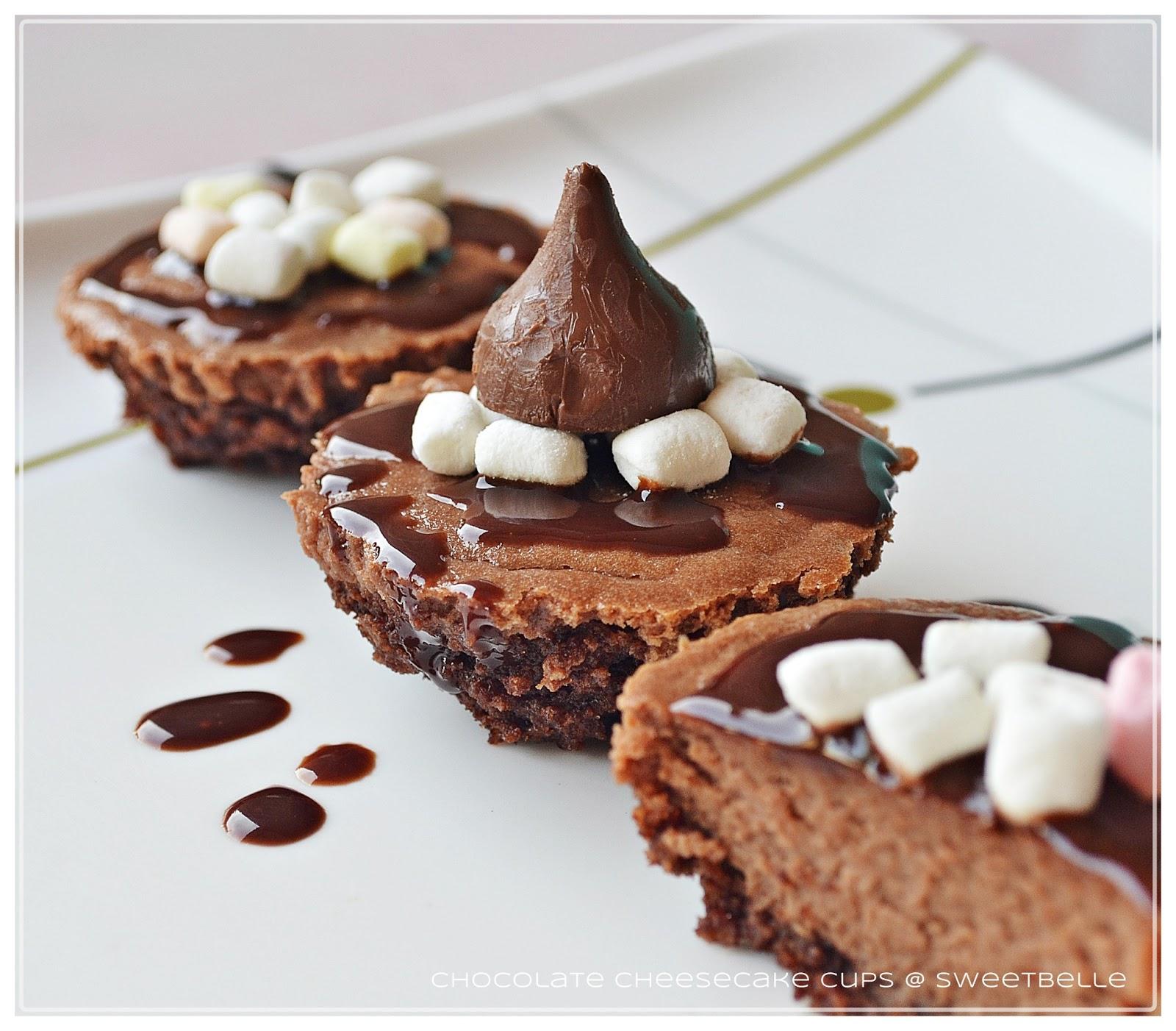 s w e e t b e l l e: Chocolate Cheesecake Cups