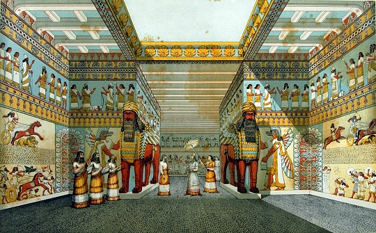 ancient egyptian and assyrian palace decorative Palaces and temples in ancient mesopotamia michael roaf this chapter reviews the architecture of an w cient mesopotamia, the lands watered by the.