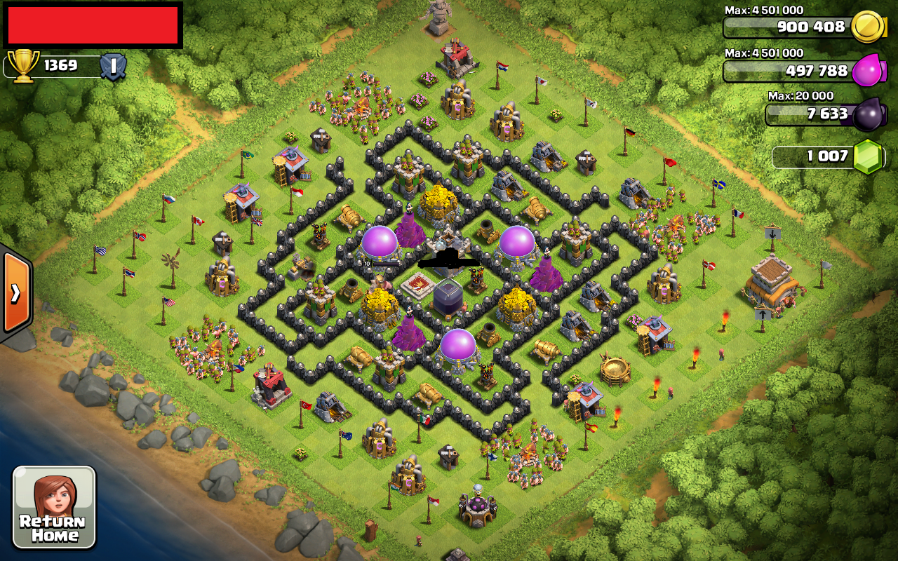 Coc th 8 best defense search results web design