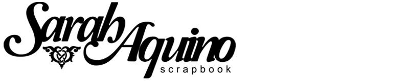 Sarah Aquino Ateliê Scrapbook