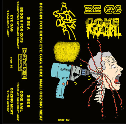 """EARDRILL"" 4 way split tape"