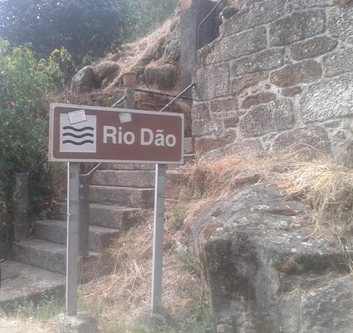 Placas de Sinalização Rio Dão