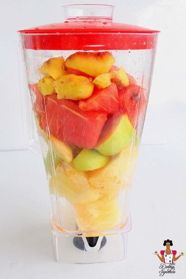 fruit with seeds is blending fruits and vegetables healthy