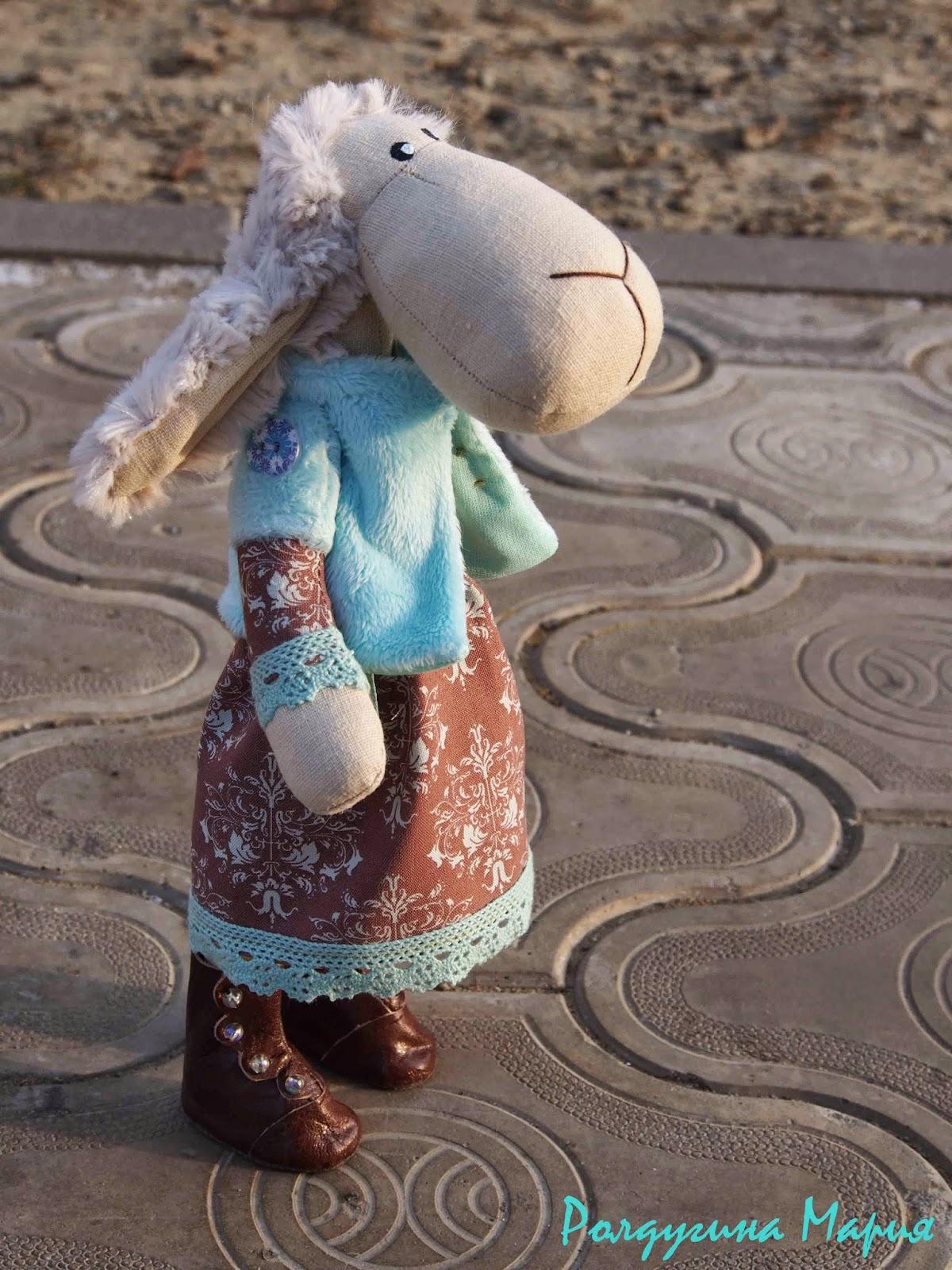 овечка символ года игрушка