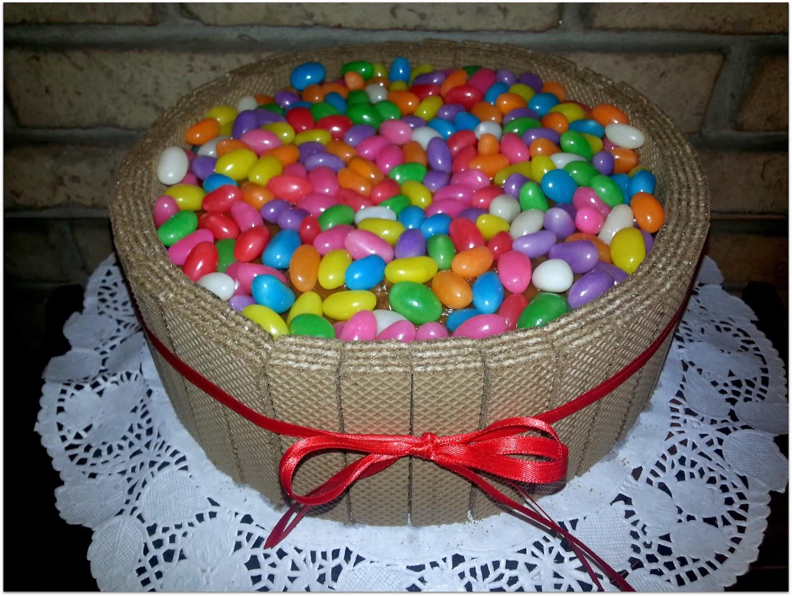 Dulcinea dulces mucho color for Tortas decoradas faciles