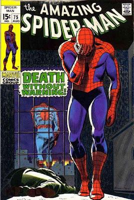 Amazing Spider-Man #75, John Romita, death of Silvermane