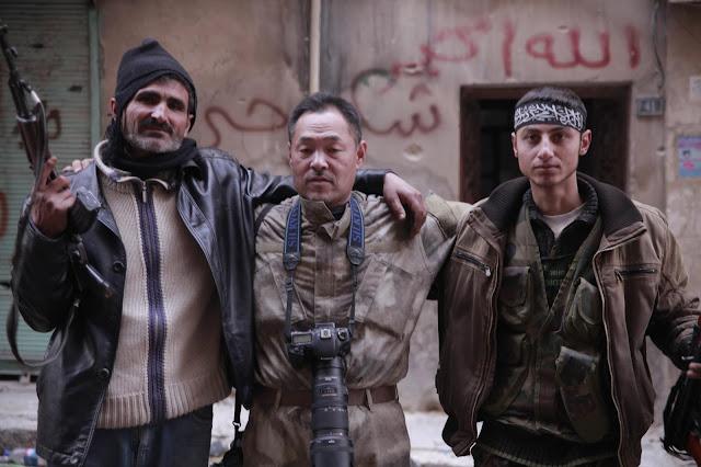 rebellion rebel syrian syria war toshifumi fujimoto