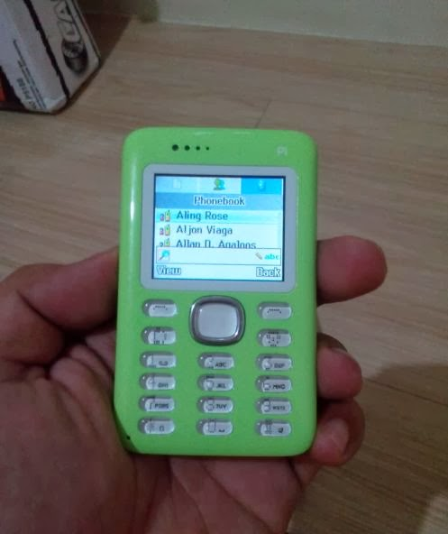 Cherry Mobile P1 Phonebook