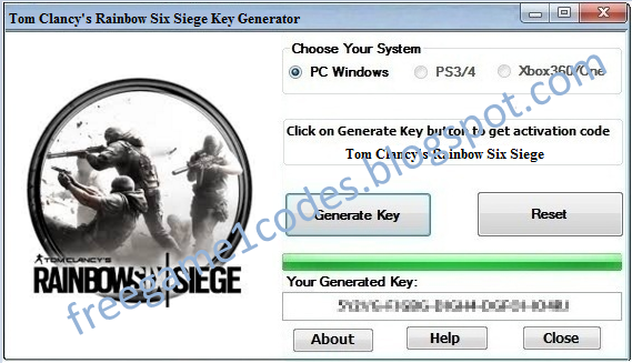 where to find the activation key for rainbow six siege