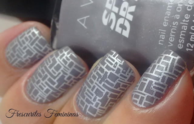 Avon, Esmalte, Nail, Polish, Grey Flash, frescurites, Femininas, mate, matte, top, coat, stamp, carimbo