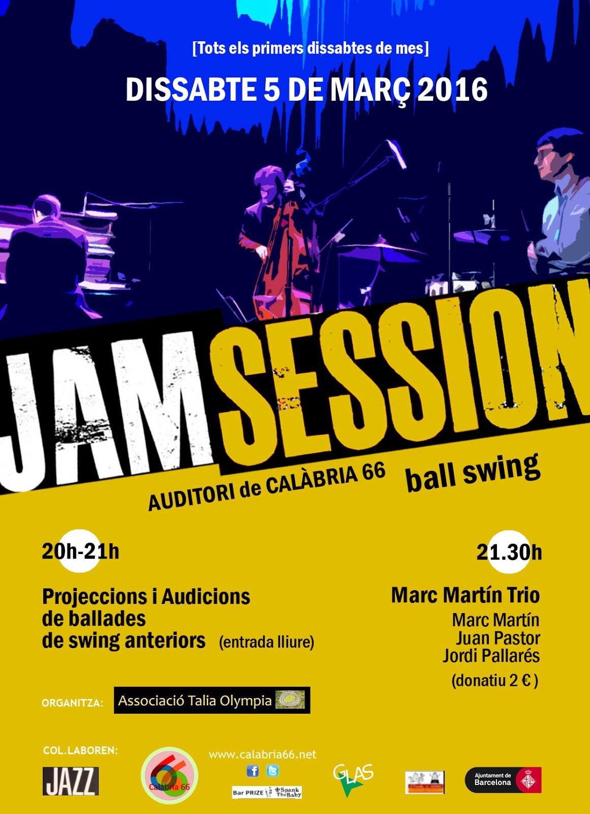 Jam Session Març