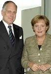 Ronald S. Lauder & Angela Merkel.