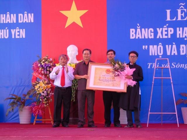 Đón nhận bằng di tích cấp quốc gia Đào Trí