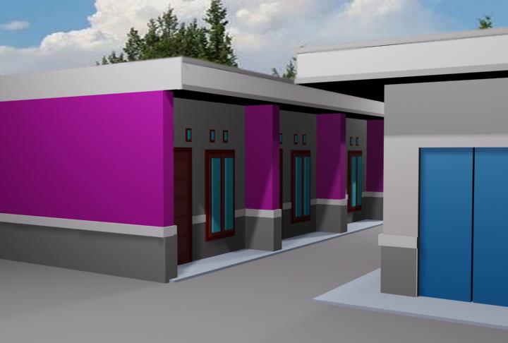 Design Rumah Petak ( untuk Kontrakan )