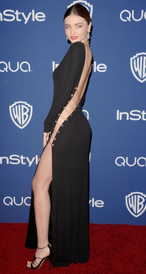 Miranda Kerr without Underwear