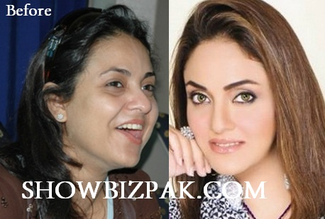 Nadia Khan without Makeup