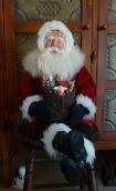 SOLD - Sitting Santa