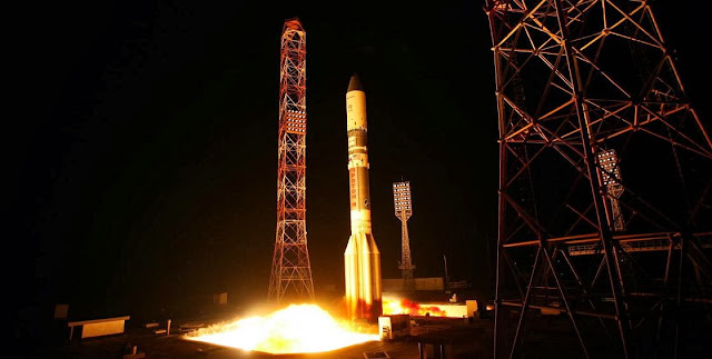 ILS Proton Successfully Launches the Sirius FM-6 Satellite. Credit: federalspace.ru