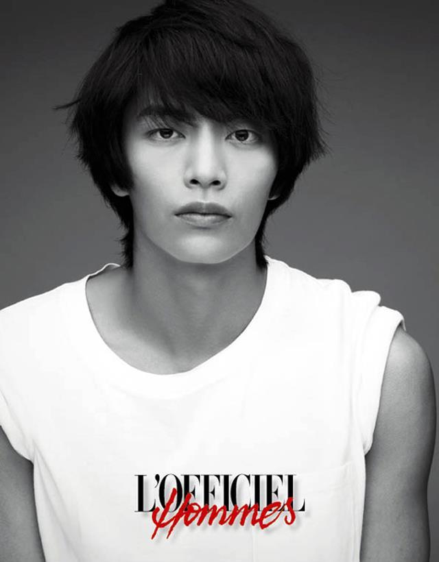 Lee Min Ki for Céci and L'Officiel Hommes - POPdramatic
