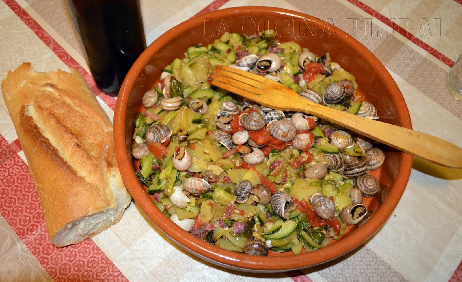 La cocina plural fritada aragonesa con caracoles for Cocina aragonesa zaragoza