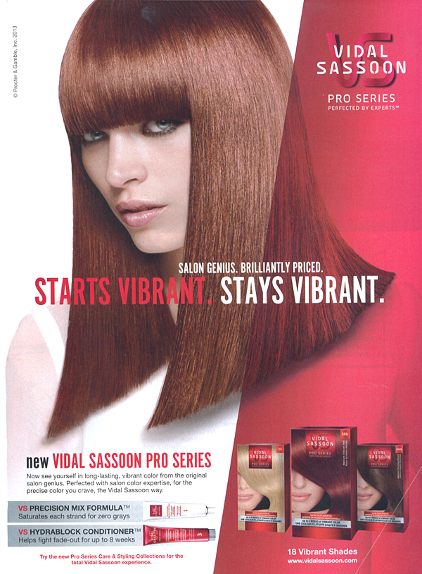 Jessie S - Vidal Sassoon - Cast Images Model - San Francisco