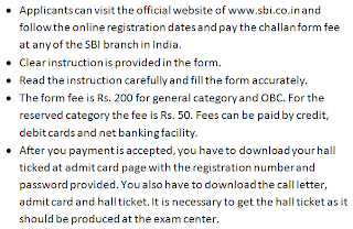 How to Apply for SBI PO Recruitment 2013-14