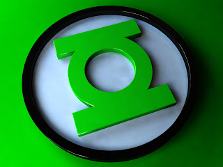 Green Lantern 3D Logo HD Wallpaper